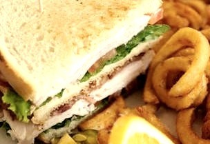 Sandwich, Fries