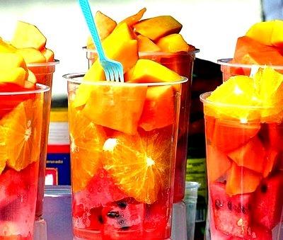 Watermelon, Fruit, Orange