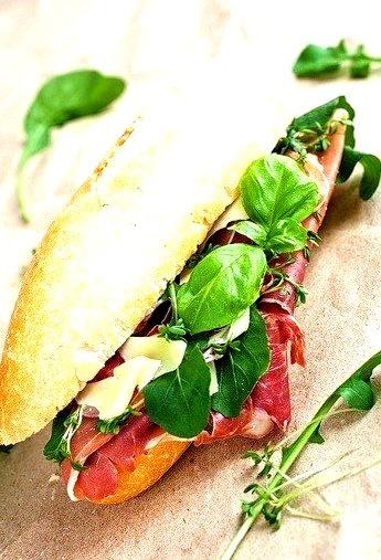 Parma Ham Sandwich (via Shutterstock)