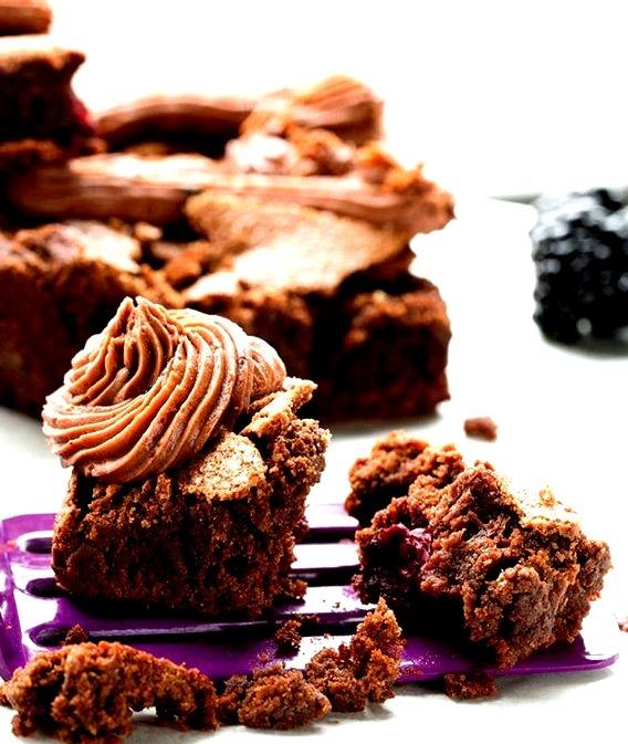 Recipe: Blackberry Brownies