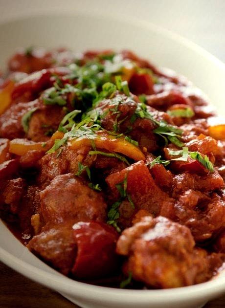Pepper Chicken Stew