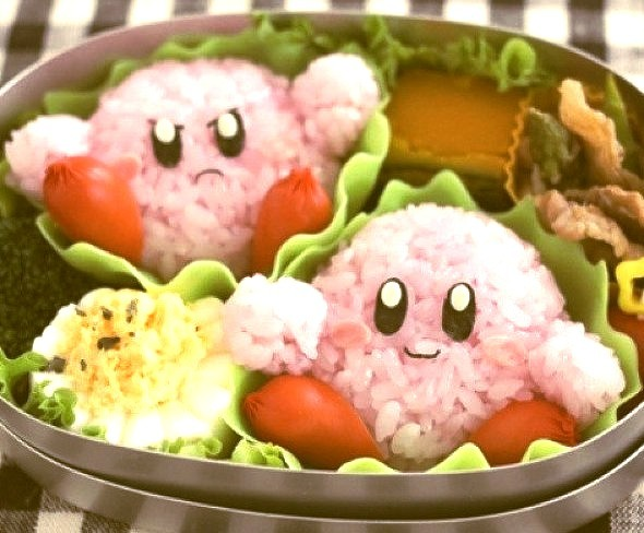 A little #Kirby for lunch. #Nintendo