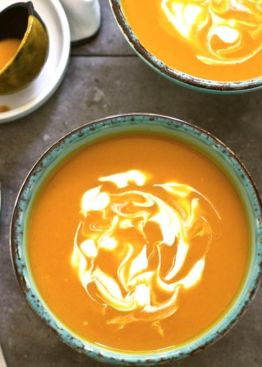 Curried Carrot and Coconut Soup